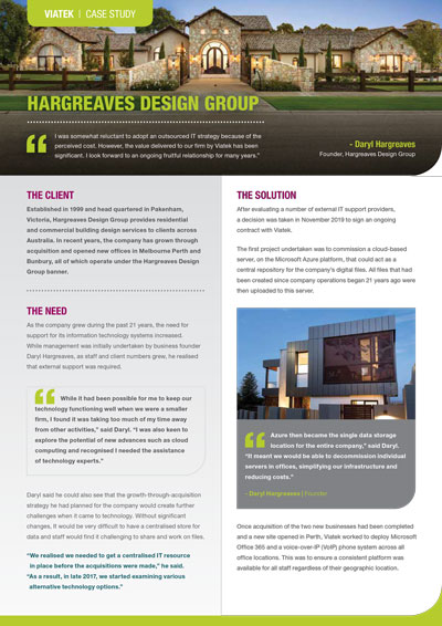Hargreaves Design Group Case Study
